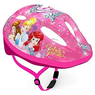 Disney Kinderhelm Fahrradhelm Kinderfahrradhelm Schutzhelm Bike 52-56 cm Mehrfarbig Prinzessin Princess rosa Mädchen