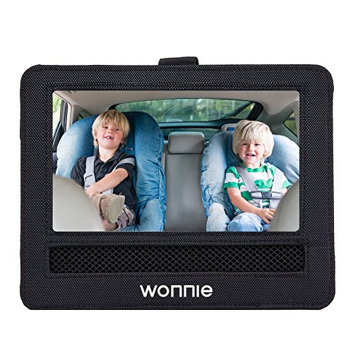 """WONNIE Car Headrest Mount Holder for Portable DVD Player for WONNIE Sylvania RCA and other 9"""" portable DVD players"""