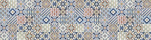 VINILIKO Gimaraes Alfombra de Vinilo, Multicolor, 80x300