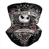 Multifunctional Headbands The-Nightmare-Before-Christmas-Jack-Skellington- Neck Face Cover Hunting Neck Gaiter Bandana Scarf
