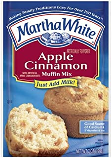 Martha White Muffin Mix Apple Cinnamon 7.0 oz. (Pack of 6)