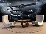pared alta calidad de impresión de póster Póster de Impresión japonesa conjunto Katana Espadas pared decoración Arte Foto Papel tapiz de
