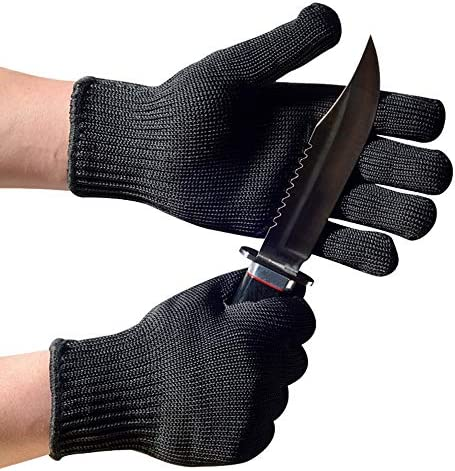TunTenDo Cut Resistant Food Grade Ambidextrous Gloves with High Performance Level 5 Protection product image