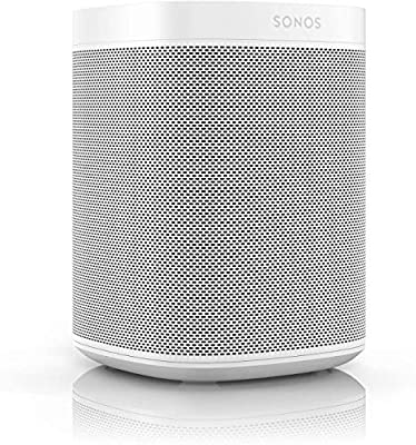 Sonos One (Gen 2) - The powerful Smart Speaker with Amazon Alexa Built-in, White from SONOS