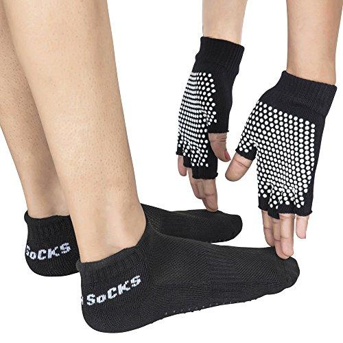 healthandyogatm yogafours–Yoga calcetines Yoga y palmeras | Yoga Pose...