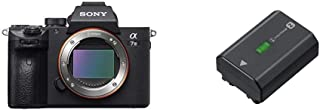 Sony Alpha ILCE7M3 - Cámara de 24.2 MP Negro + NP-FZ100 Camera/Camcorder Battery 2280 mAh - Camera/Camcorder Batteries (2280 mAh Cámara Sony α9 72 V 164 WH)