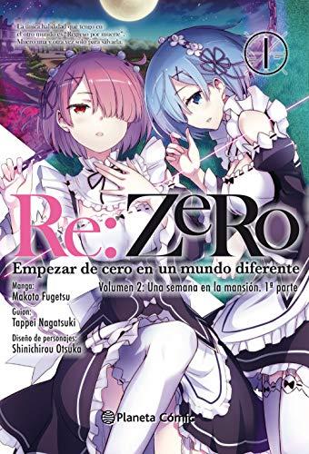 Re:Zero Chapter 2 nº 01: Empezar de cero en un mundo diferente. Volumen 2: Una semana en la mansión. 1ª parte (Manga Shonen)