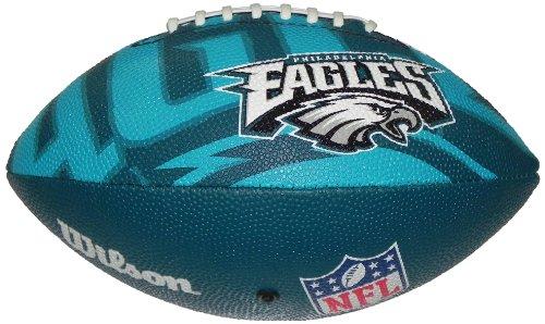 WILSON Football NFL Junior Philadelphia Eagles Logo, Mehrfarbig, 5, WL0206634040