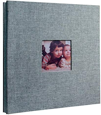 Self Adhesive Stick Large Photo Album Scrapbook Memory Book with Sticky Pages for Baby Wedding product image