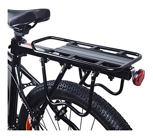 JNWEIYU Bike Rack for Back of Bike Topeak Adjustable Bike Cargo Rear Racks, Retractable Bicycle Luggage Cargo Rack Mountain Bike Carrier Bracket