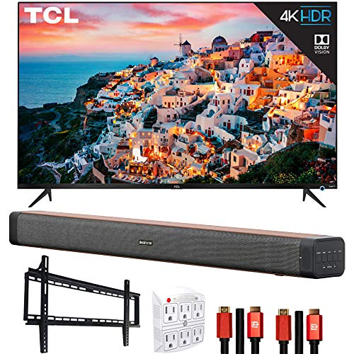 TCL 65S535 65-inch 5-Series 4K UHD Dolby Vision...