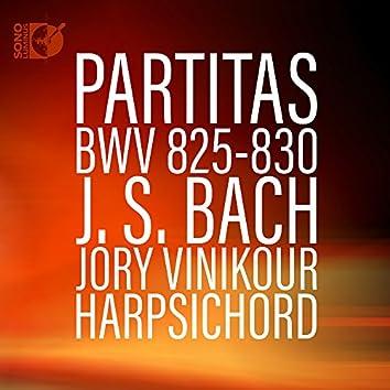 Bach: Harpsichord Partitas, BWV 825-830