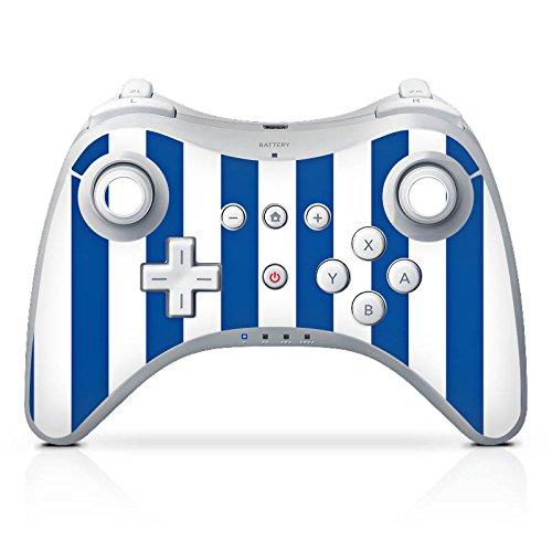 DeinDesign Skin Aufkleber Sticker Folie für Nintendo Wii U Pro Controller Sportverein Mannschaft Lilien