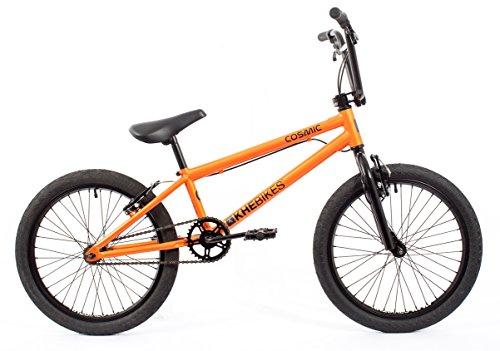 KHEbikes BMX Cosmic Bicicletta da 20 pollici con rotore Affix, solo 11,1 kg , Colore: arancione., 51 cm
