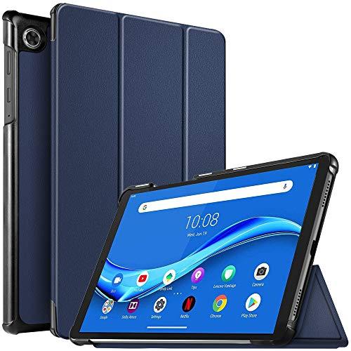 IVSO Hülle für Lenovo Tab M10 FHD Plus 10.3, Ultra Schlank Slim Schutzhülle Hochwertiges PU mit Standfunktion Perfekt Geeignet für Lenovo Tab M10 FHD Plus (2nd Gen) 10.3 TB-X606F, Blau