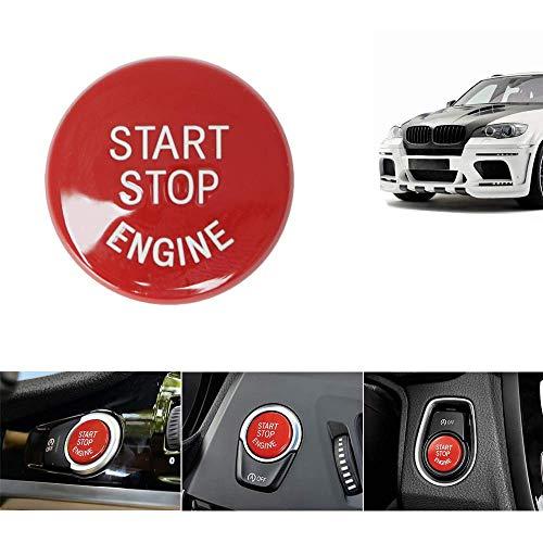 LITTOU Rot Auto Start-Stopp-Schalter Knopf Schalter Abdeckung Zündschalter Druckknopf Cover für 1 2 3 4 5 6 7 X1 X3 X4 X5 X6 Serie
