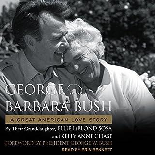 George & Barbara Bush audiobook cover art