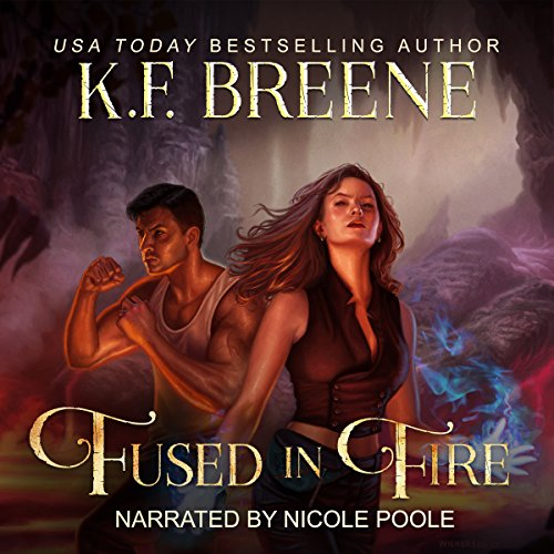 Fused in Fire audiobook cover art