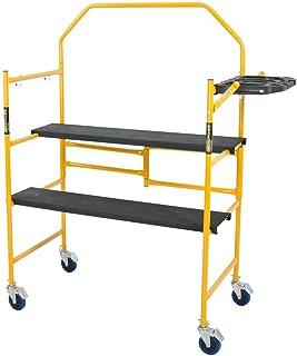 Best Metaltech I- IMCNT Job Site Series 4-3/4 4 x 2 ft. Scaffold 500 lb. Load Capacity, 4-3/4