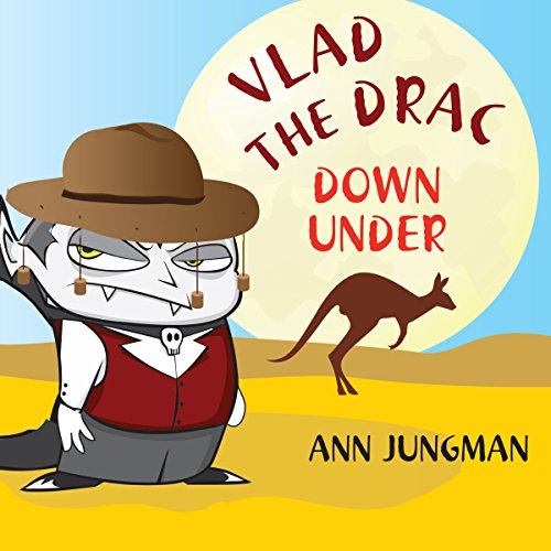 Vlad the Drac Down Under audiobook cover art