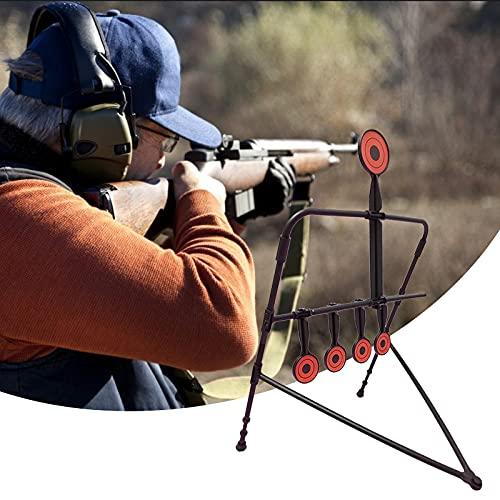 4YANG Airsoft Swinging Target Self Resetting, BB Pellets Trap Metal Airgun, Rifle, and Pistol Indoor Outdoor Shooting Practice