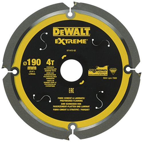 DeWALT DT1472 Kreissaegeblatt PCD 190/30mm 4Z