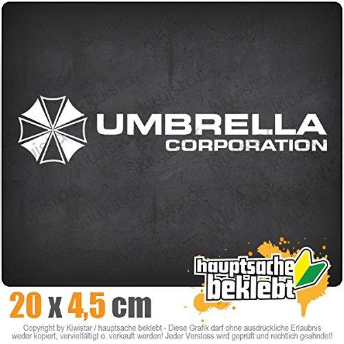 KIWISTAR Aufkleber - Umbrella Corperation - Autoaufkleber Sticker Bomb Decals Tuning Bekleben
