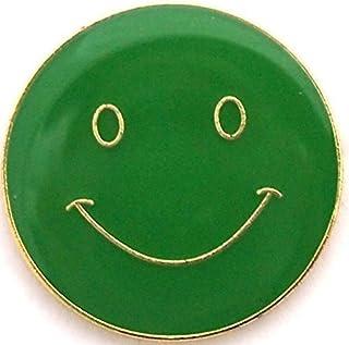 Badge Smiley (vert)