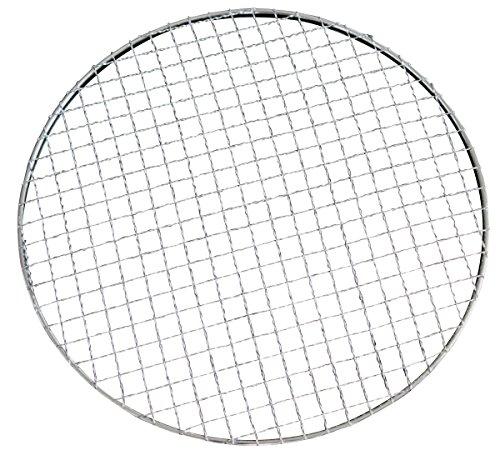 大きさ 選べる BBQ 焼肉 使い捨て 焼き網 丸網 平型 ドーム型 (10枚セット 平面 28cm)