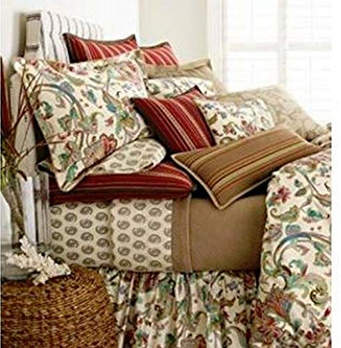 Lauren by Ralph Lauren Bedding Antigua Paisley Floral Set of 2 Pillowcases; KING