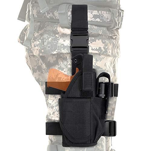 Tactical Drop Leg Holster, Adjustable Universial Pistol...