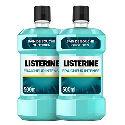 LISTERINE Fraicheur Intense– Bain de bouche...