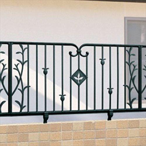 三協アルミ 鋳物フェンス ハーベリー4型 本体 1006 フリー支柱タイプ 『アルミフェンス 柵』 アートブラウン