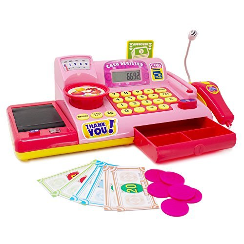 Boley Kids Toy Cash Register -...