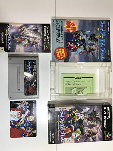 Fire Emblem: Mystery of the Emblem (Japanese Language Version) Import Super Famicom