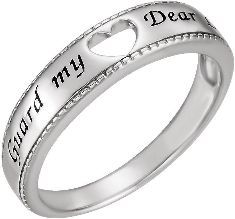 Beautiful Sterling silver 925 sterling Sterlingsilver Guard My Heart Ring