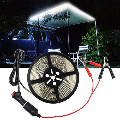 Camping LED Outdoor Lichtband, 5m LED Outdoor Lichtband- Ideal für Outdoor-Aktivitäten: Camping, Wandern, Festivals, Terrasse, Garten, Etc