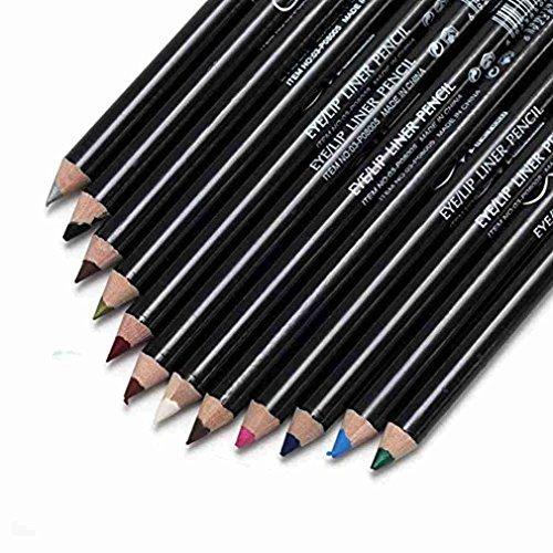 AKAAYUKO 12 Farben Professionelle Eyeliner Stift Eyeliner Pen