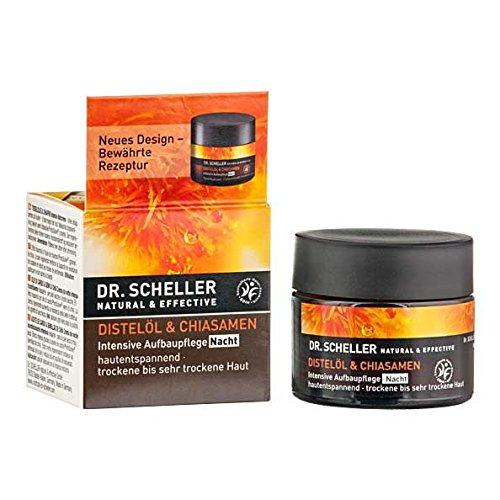Dr. Scheller Distelöl & Chiasamen Intensiv Aufbau Nacht Gesichtscreme 50 ml