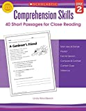 40 Short Passages for Close Reading, Grade 2 (Comprehension Skills)