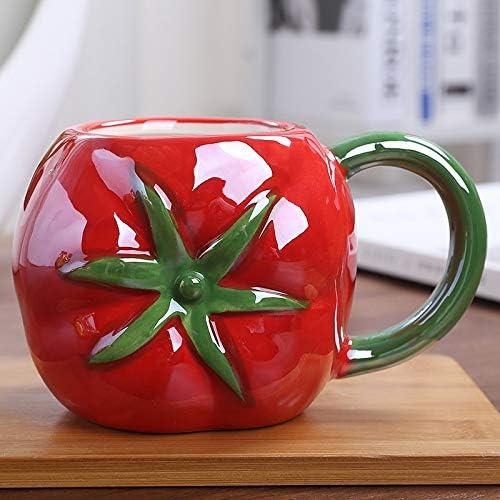 Max 64% OFF 450ML Creative Fruit Ceramic Mug Cute with Coffee Strawberry Max 59% OFF