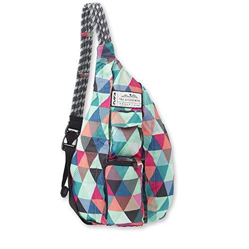 KAVU Original Rope Pack Lightweight Water Resistant Sling Bag - Wild Tile