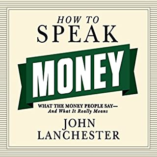 How to Speak Money audiobook cover art