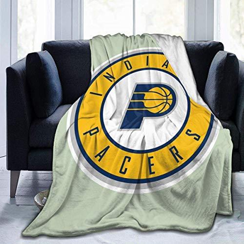 KINGAM Indiana Pacer Fashion Ul-tra-Soft Micro Fleece Manta de salón / dormitorio cálida
