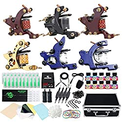 Dragonhawk Complete Tattoo Kit Starter Coils Tattoo Machine