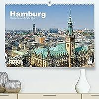 Hamburg Stadt an der Alster und Elbe (Premium, hochwertiger DIN A2 Wandkalender 2022, Kunstdruck in Hochglanz): Ein Jahr Hamburg. 13 faszinierende Aufnahmen der Hansestadt an den Fluessen Alster und Elbe (Monatskalender, 14 Seiten )