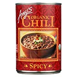 Amy's Kitchen Organic Soups, Spicy Chili, 14.7 Ounce, 12 Count