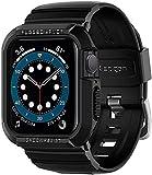 Spigen Rugged Armor Pro Designed for Apple Watch Band with Case Series 6/SE/5/4 (40mm) - Black