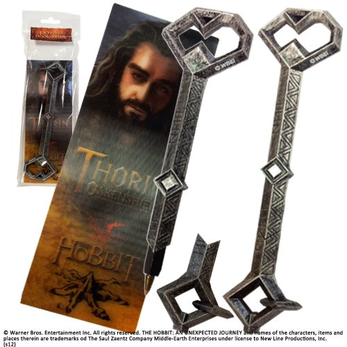 La Nobile Collezione Il Signore degli Anelli: Penna e segnalibro Chiave di Thorin