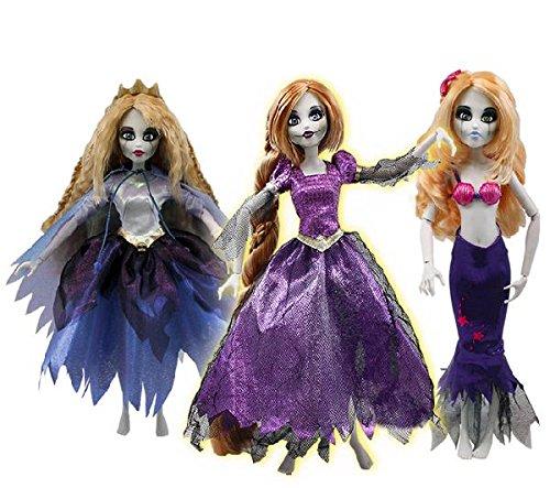FAMOSA Princesas Zombies - Surtido o pack 1 (Rapunzel/La sirenita/La Bella durmiente)